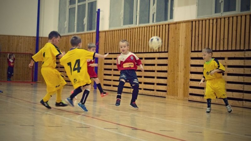 FOTO: Fotbalová školička odehrála první turnaj
