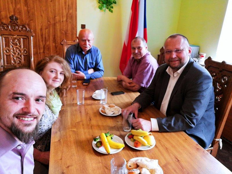 Poslanec Jan Bartošek navštívil Vyšší Brod