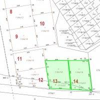 Dvě stavební parcely na prodej