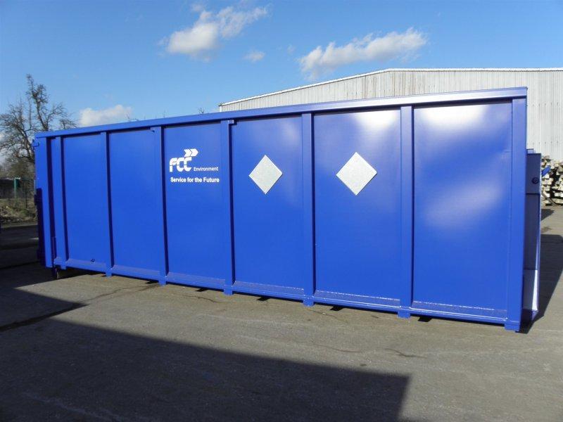 Vyšší Brod - přistavení kontejnerů na objemný a nebezpečný odpad