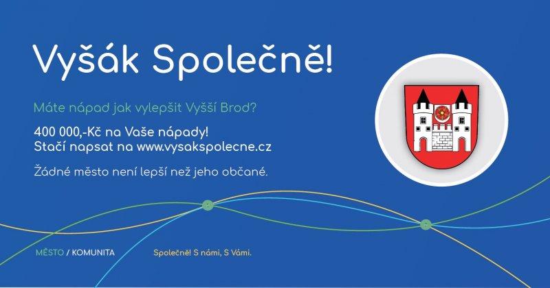 Vyšák společně - participativní rozpočet města Vyšší Brod