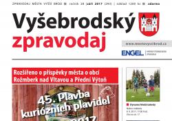Ilustračni fotografie k časopisu Vyšebrodský zpravodaj 09/2017