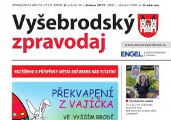 Ilustračni fotografie k časopisu Vyšebrodský zpravodaj 04/2017