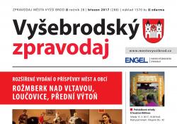 Ilustračni fotografie k časopisu Vyšebrodský zpravodaj 03/2017