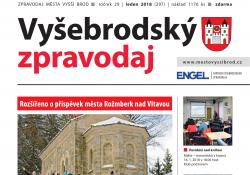 Ilustračni fotografie k časopisu Vyšebrodský zpravodaj 01/2018