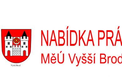 Výběrové řízení - referent stavebního odboru MěÚ Vyšší Brod